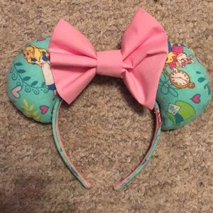 Alice and Wonderland Mickey Ears
